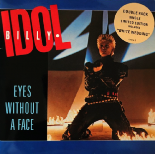 "Billy Idol ‎- Eyes Without A Face (2 x 7"") (EX-/VG-)"